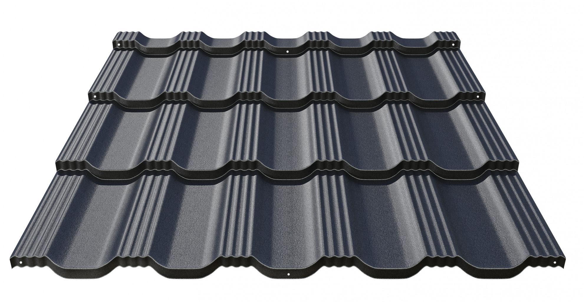 - Klasyczne dachówki blaszane Bavaria R Roof Roof
